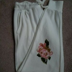 Chaser Floral Sweatpants Exercise Joggers Pants Sm